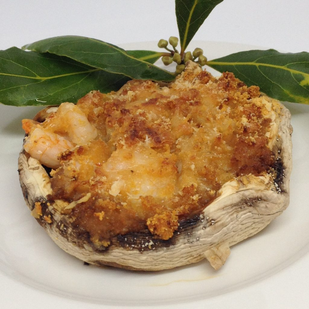 Stuffed Seafood Mushrooms