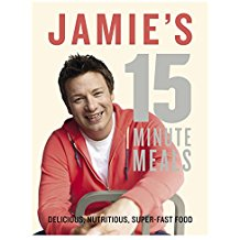 Jamie 15 Minute Meals Cookbook