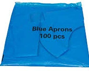 Blue Disposable Aprons
