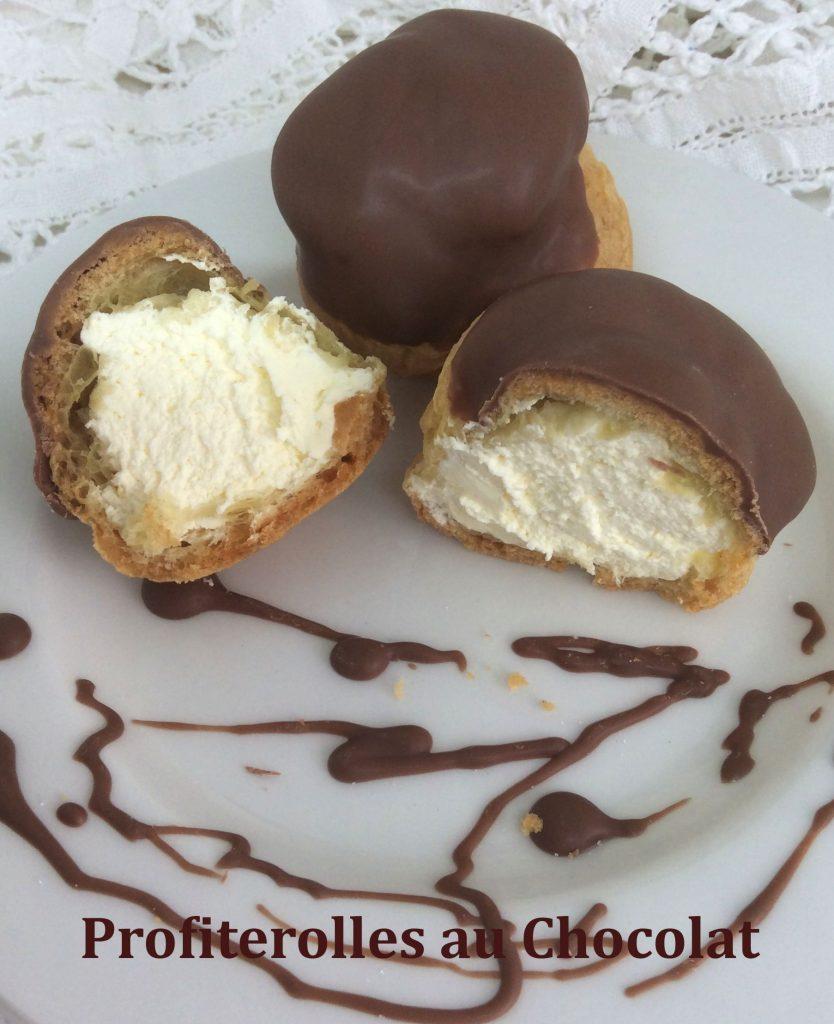 Profiterolles au Chocolat 2
