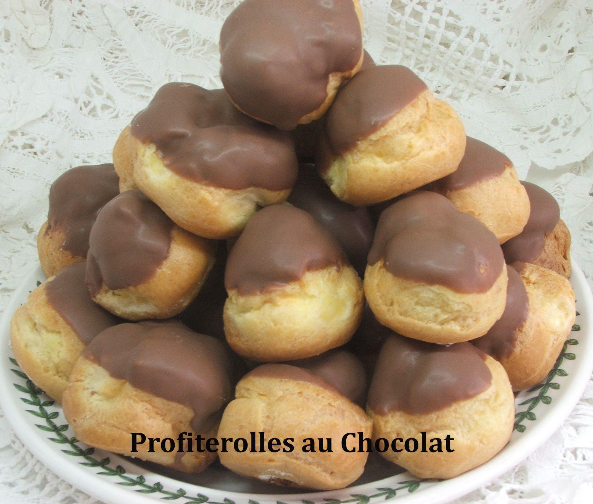 Profiterolles au Chocolat