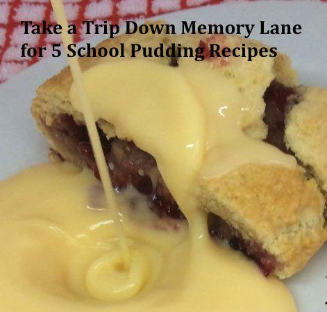5 School Pudding Recipes