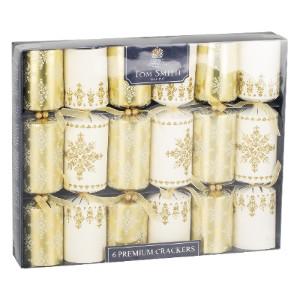 6 premium xmas crackers