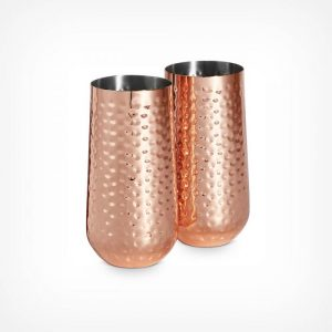 Copper Highball Glasses