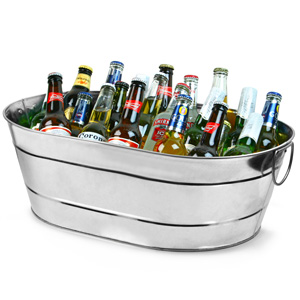 oval party tub