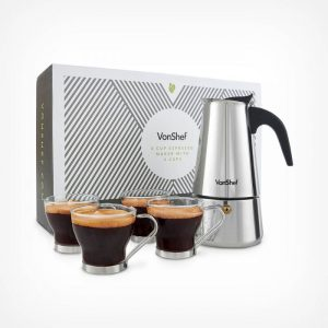 6-Cup-Espresso-Maker-with-4-Cups