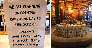 Nando's restaurant in Waterloo Street, Glasgow that's feeding the homeless this Christmas