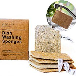 Goldrick-Pack-Of-5-Organic-Dishwashing-Sponges