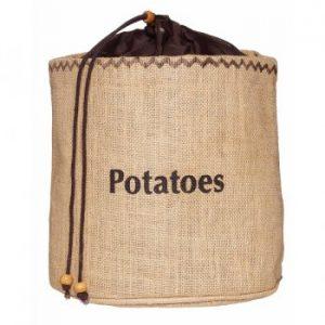 KitchenCraft Natural Elements Potato Jute Sack