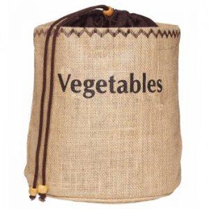 KitchenCraft Natural Elements Vegetable Jute Sack
