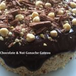 Chocolate & Nut Ganache Gateau