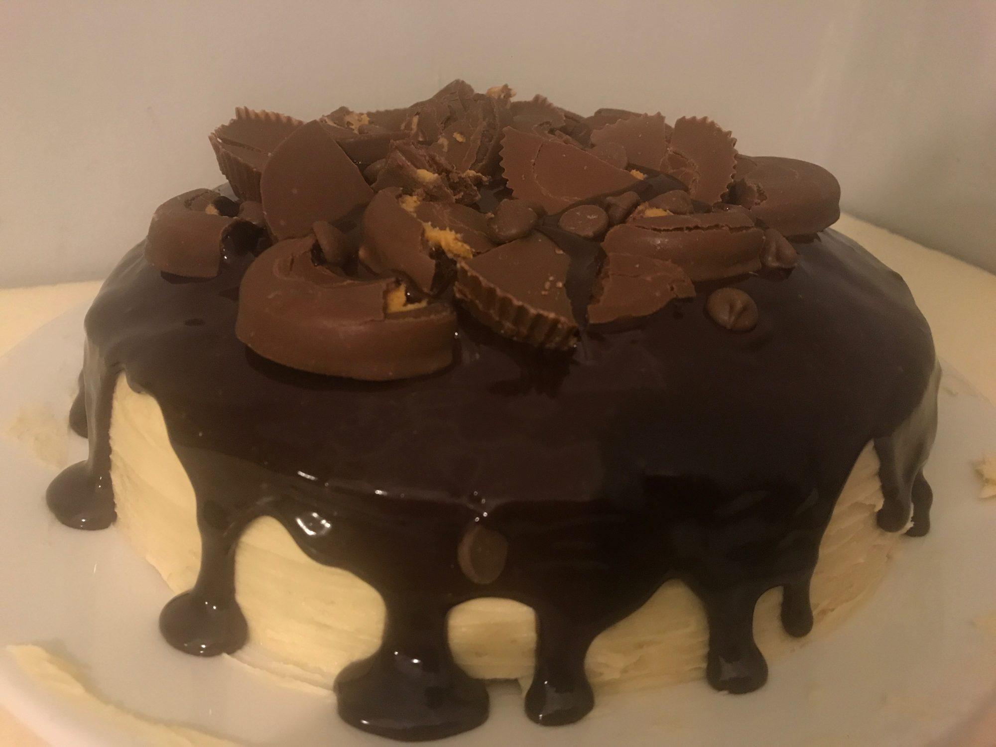 Heavenly Peanut Butter Cake